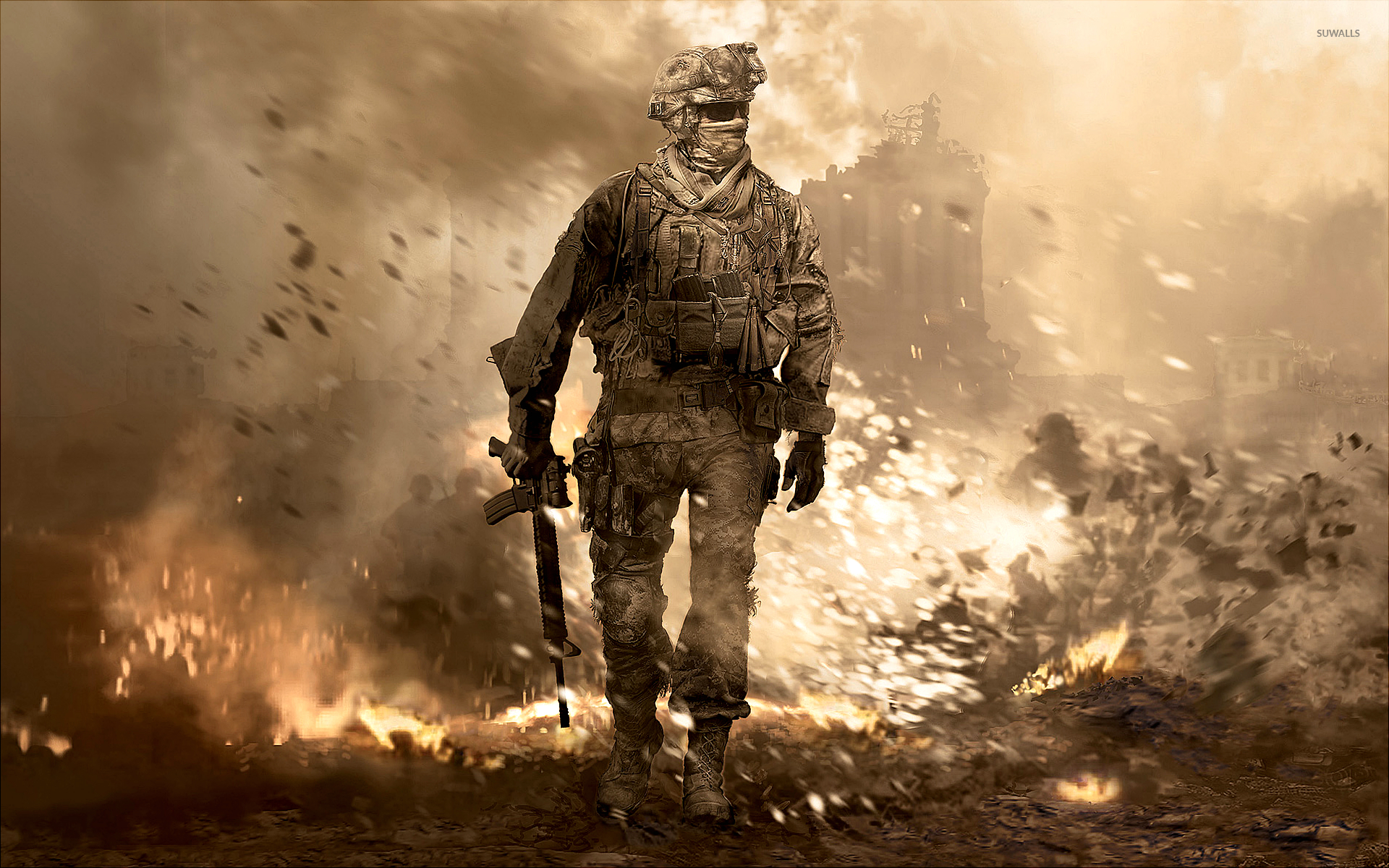 Call Of Duty Modern Warfare 2 Wallpaper Game Wallpapers 196