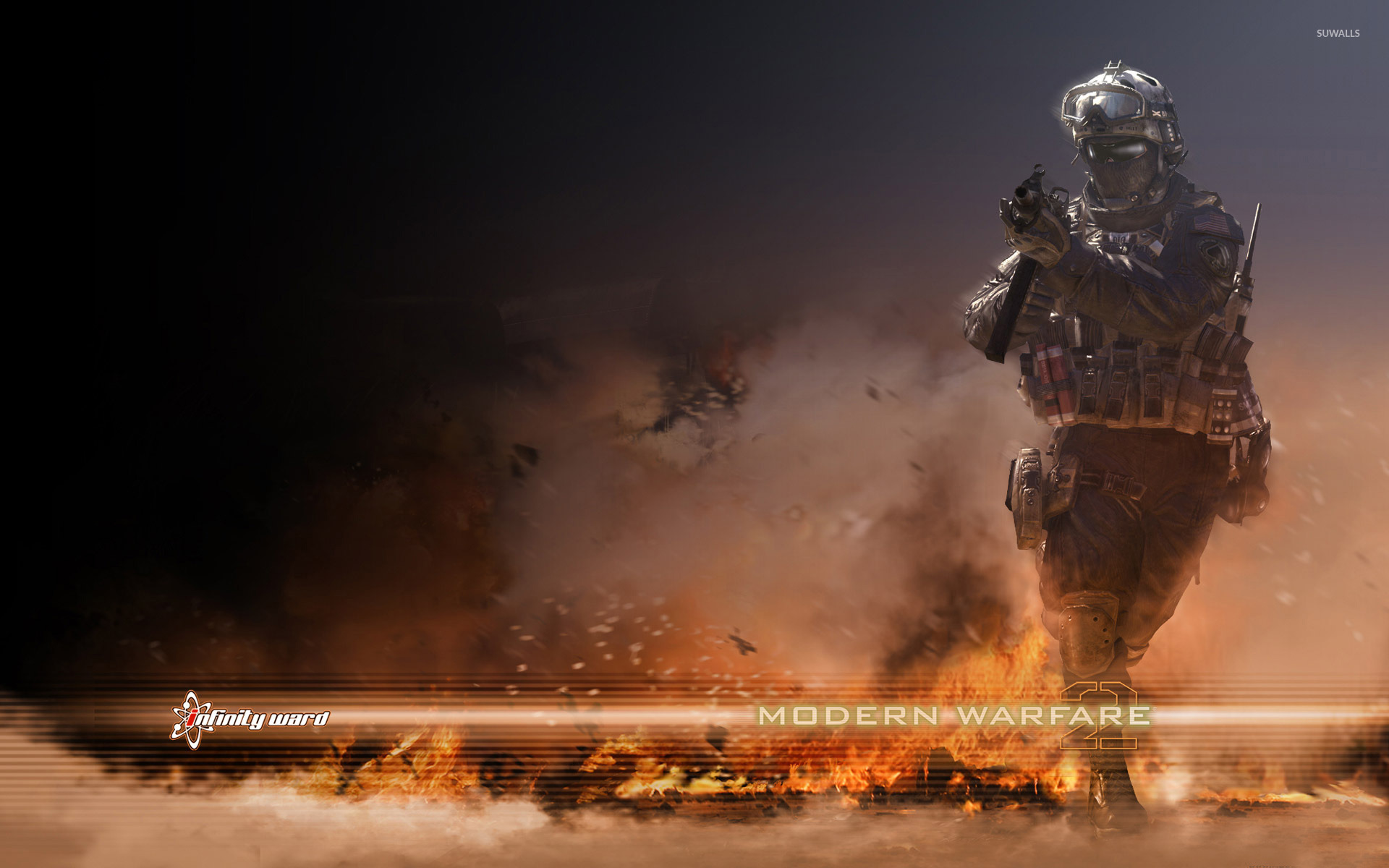 call of duty modern warfare 2 wallpapers