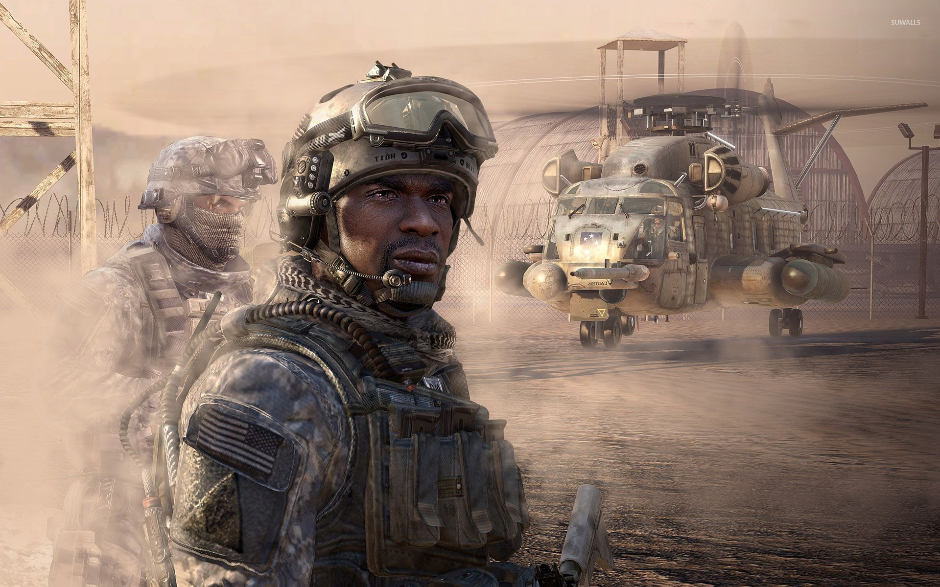 Call Of Duty Modern Warfare 2 Soldiers Wallpaper Game