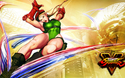 Cammy in Street Fighter V wallpaper