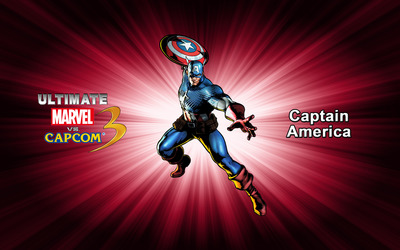 Captain America - Ultimate Marvel vs. Capcom 3 wallpaper