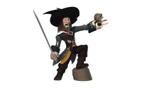 Captain Barbossa - Disney Infinity wallpaper 2880x1800 jpg