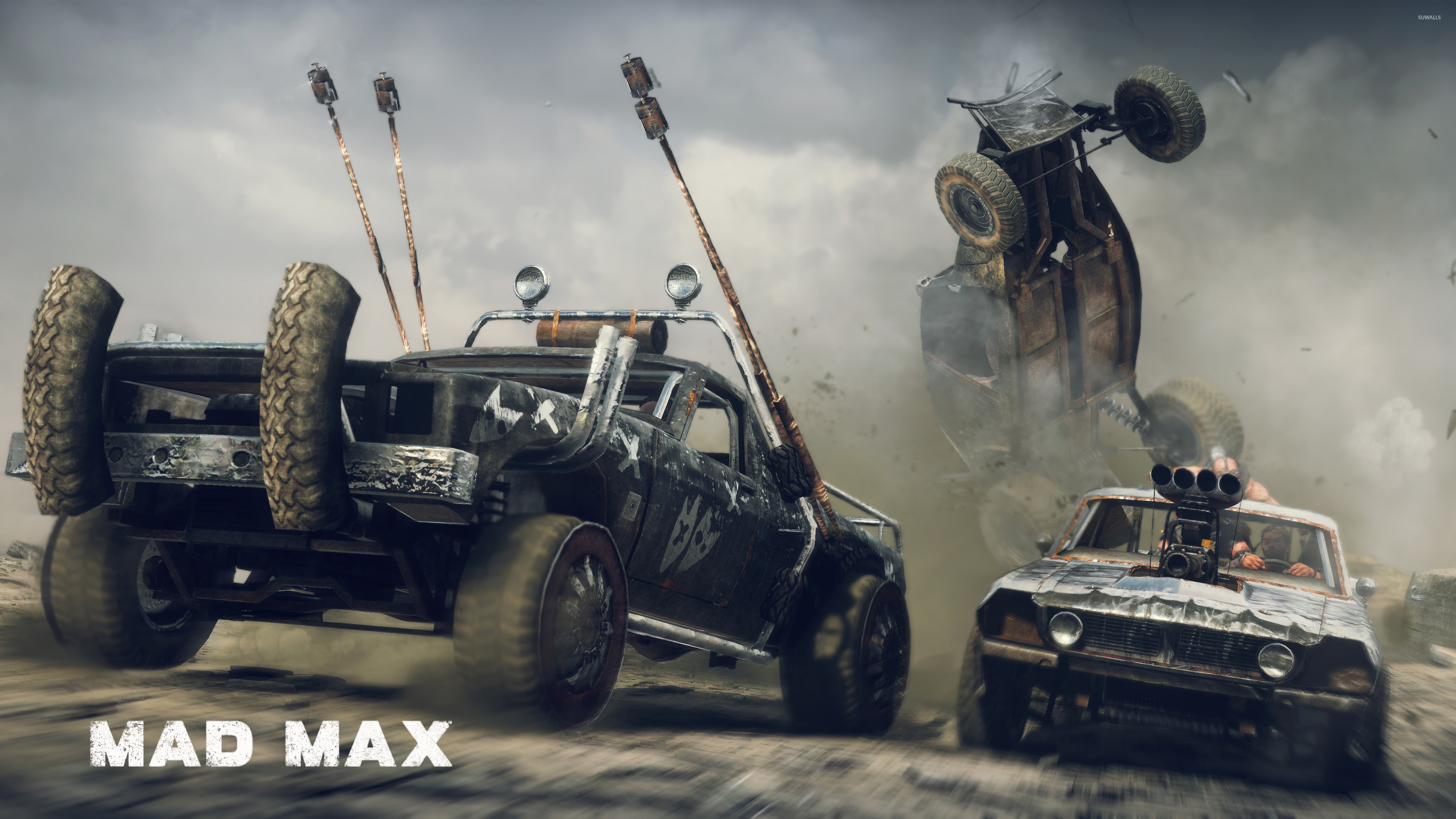 Car Battle In Mad Max Wallpaper Game Wallpapers 49426
