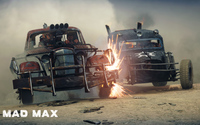 Car combat in Mad Max wallpaper 3840x2160 jpg