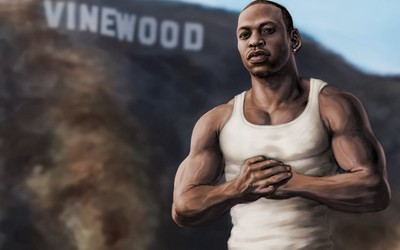 Carl Johnson - Grand Theft Auto: San Andreas wallpaper
