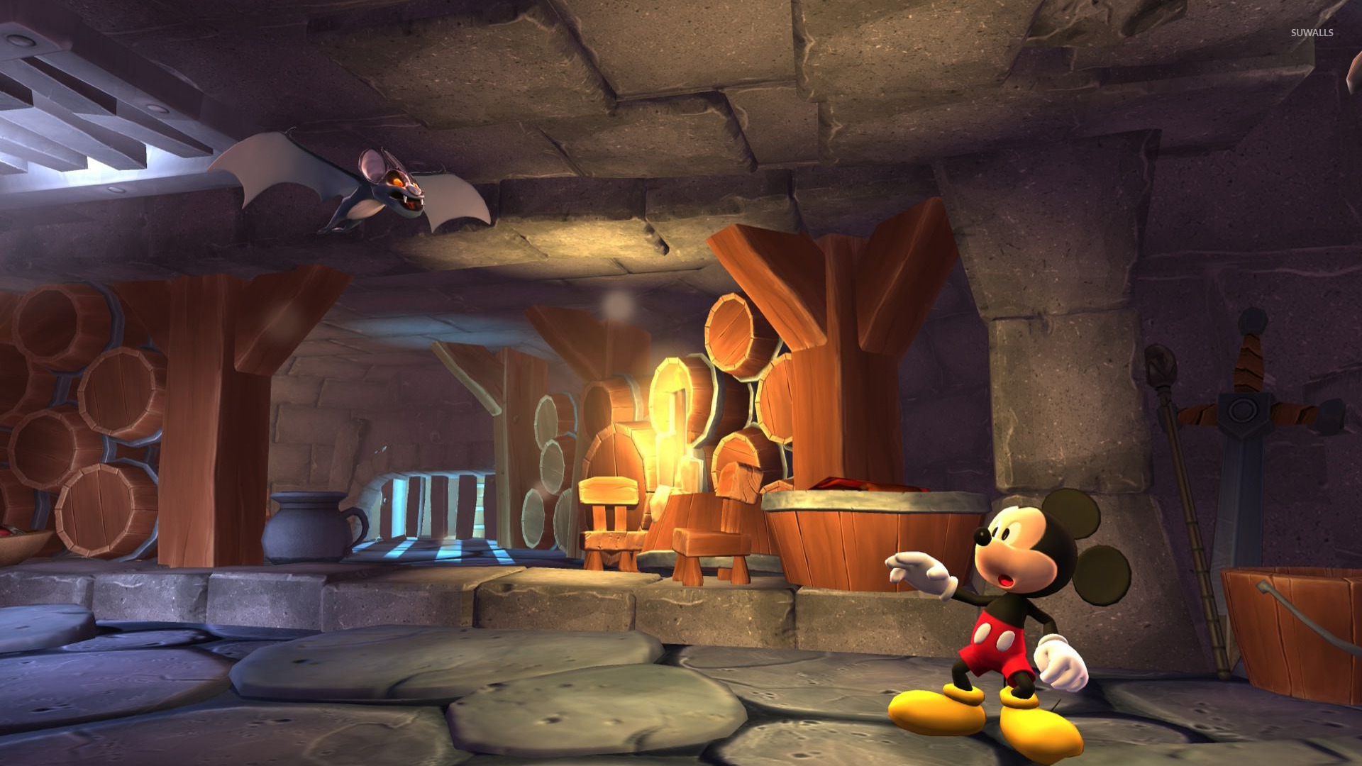 castle of illusion starring mickey mouse  2  wallpaper - game wallpapers