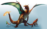 Charizard - Pokemon wallpaper 1920x1200 jpg