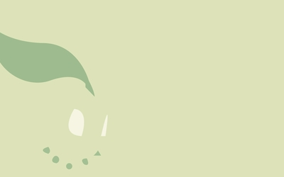 Chikorita - Pokemon wallpaper