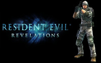 Chris Redfield - Resident Evil: Revelations [2] wallpaper 2560x1600 jpg