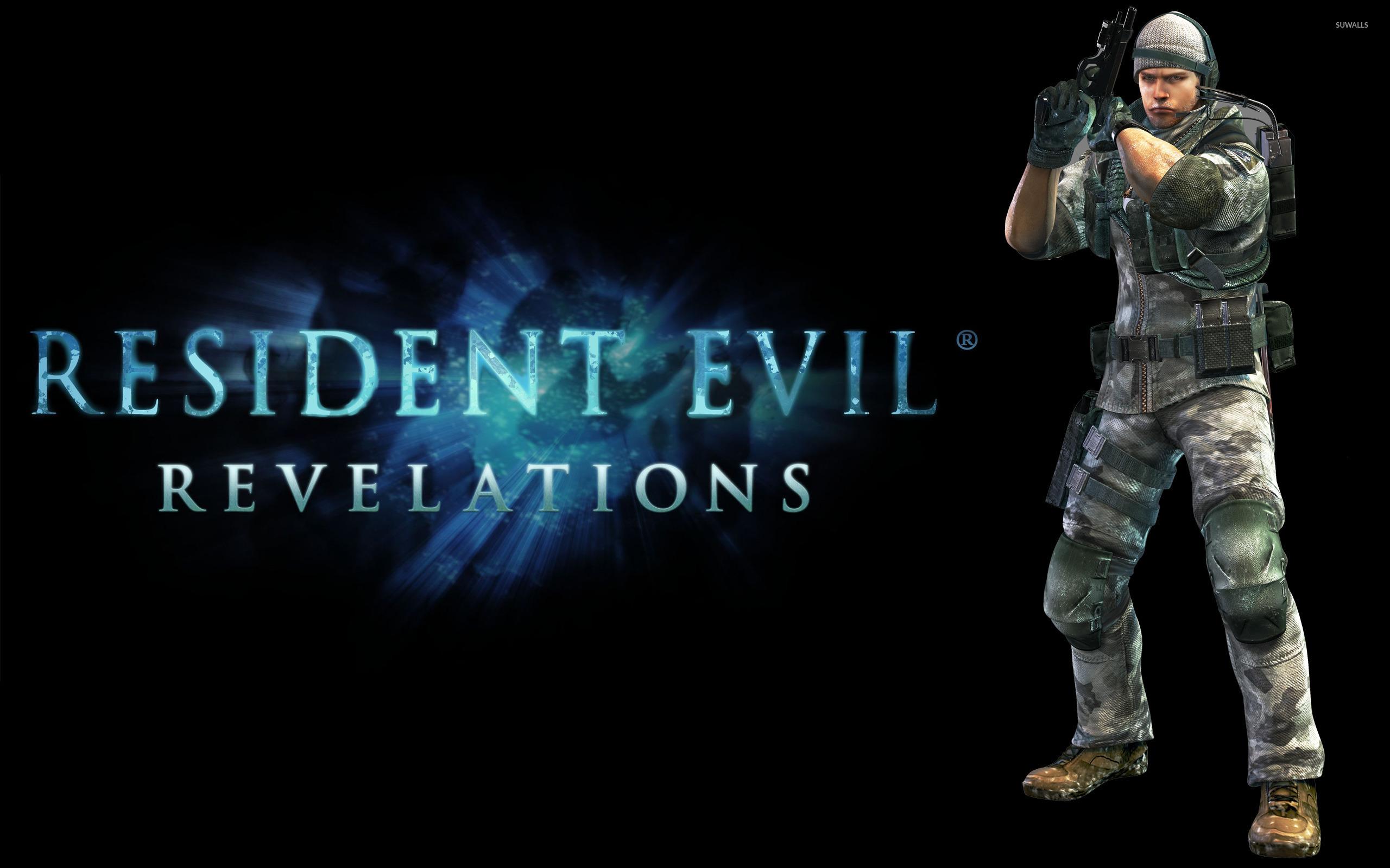Chris Redfield Resident Evil Revelations 2 Wallpaper Game