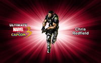 Chris Redfield - Ultimate Marvel vs. Capcom 3 wallpaper 2560x1600 jpg