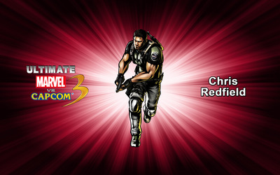 Chris Redfield - Ultimate Marvel vs. Capcom 3 wallpaper