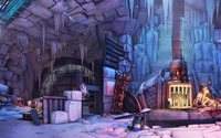 Claptrap's Place - Borderlands wallpaper 2560x1600 jpg