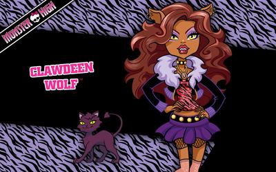 Clawdeen Wolf - Monster High Wallpaper