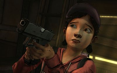 Clementine - The Walking Dead [2] wallpaper