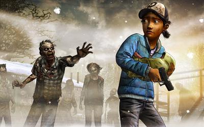 Clementine - The Walking Dead: Season Two wallpaper