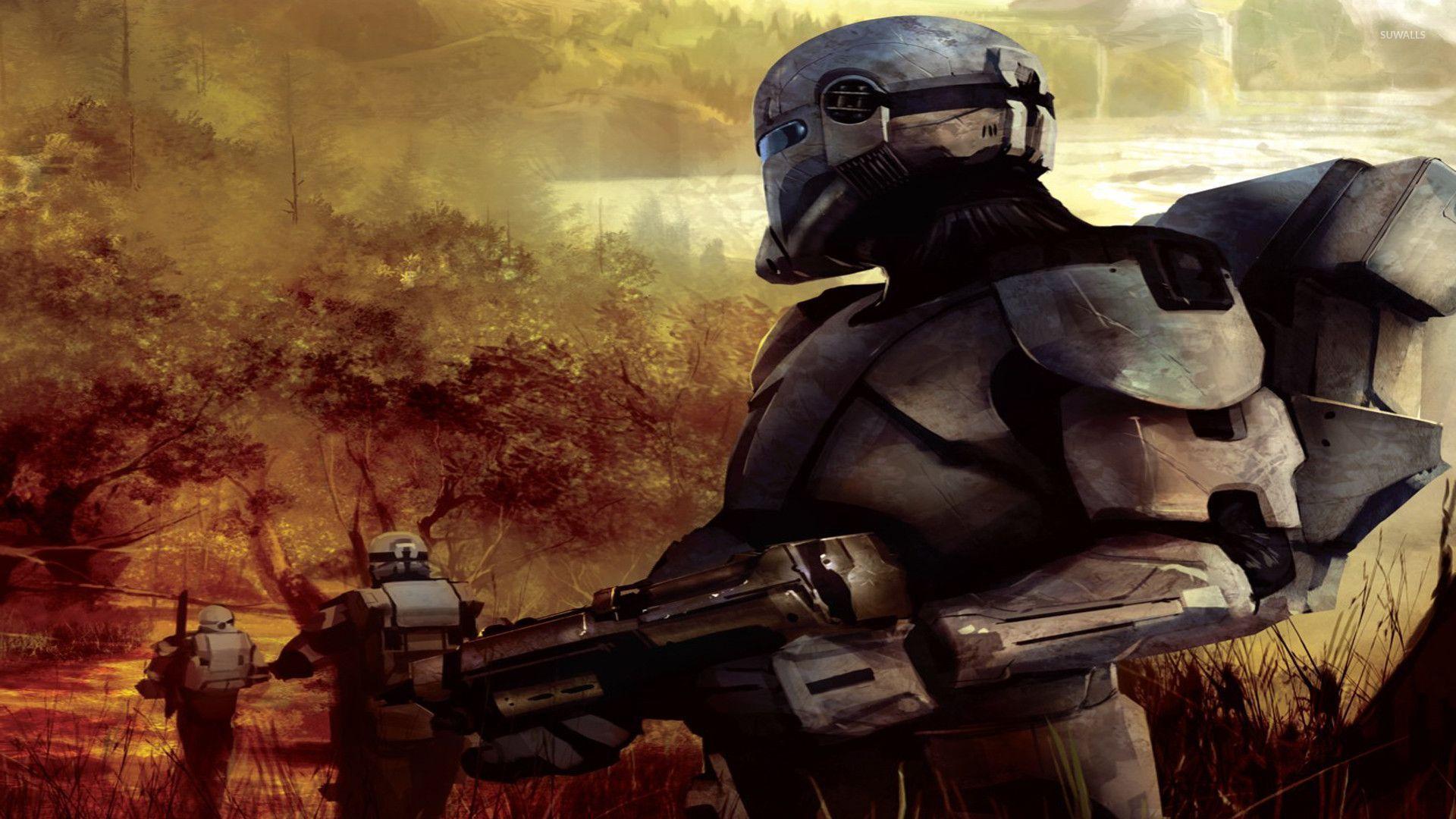 epic star wars trooper wallpaper - photo #37