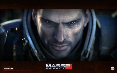 Commander Shepard - Mass Effect 2 wallpaper