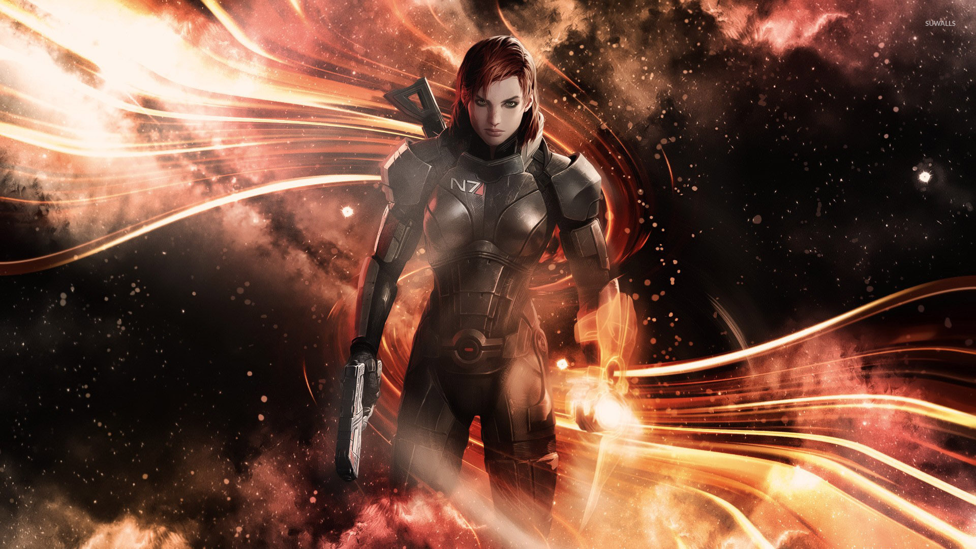 Commander Shepard Mass Effect 3 3 Wallpaper Game Wallpapers