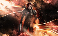 Commander Shepard - Mass Effect 3 [3] wallpaper 1920x1080 jpg