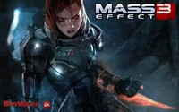 Commander Shepard - Mass Effect 3 [2] wallpaper 1920x1200 jpg