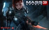 Commander Shepard - Mass Effect 3 [2] wallpaper 1920x1200 jpg