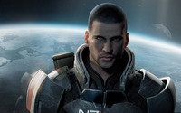 Commander Shepard - Mass Effect [2] wallpaper 1920x1200 jpg
