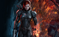 Commander Shepard - Mass Effect wallpaper 1920x1080 jpg