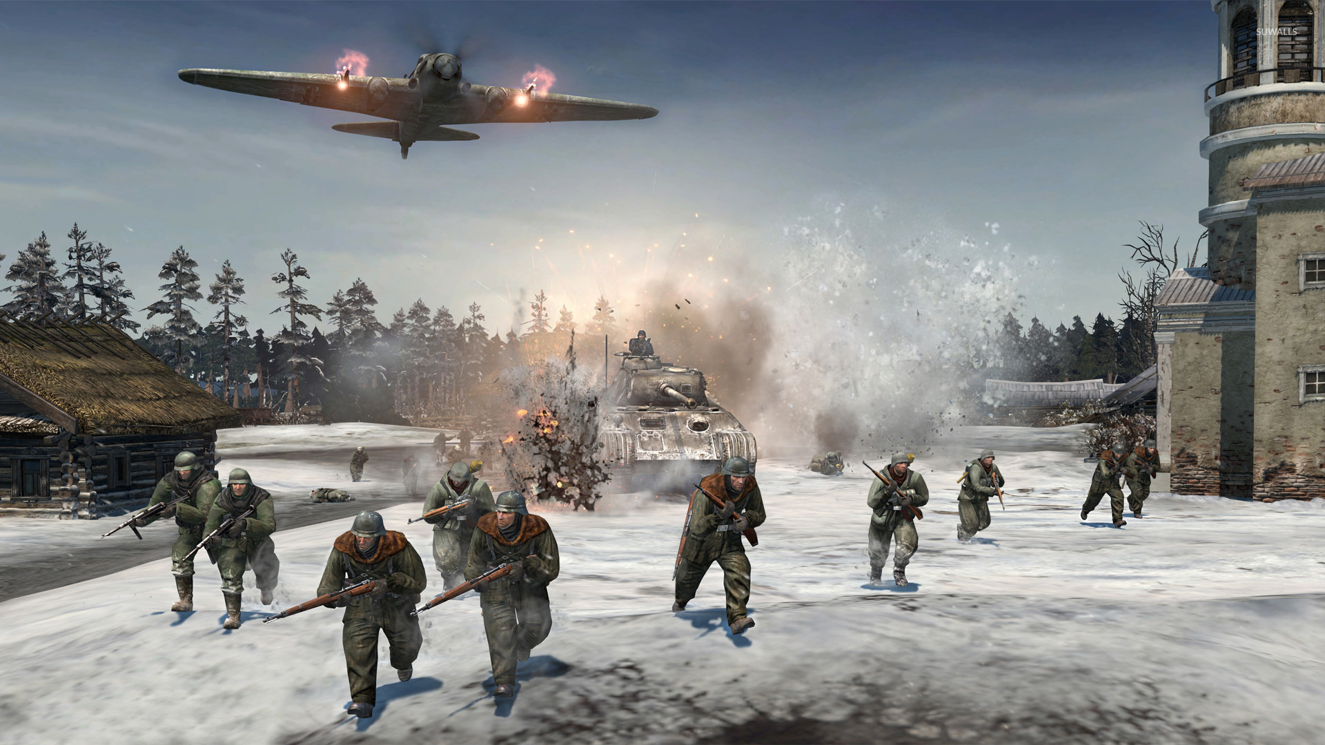 Company Of Heroes 2 8 Wallpaper Game Wallpapers 21257