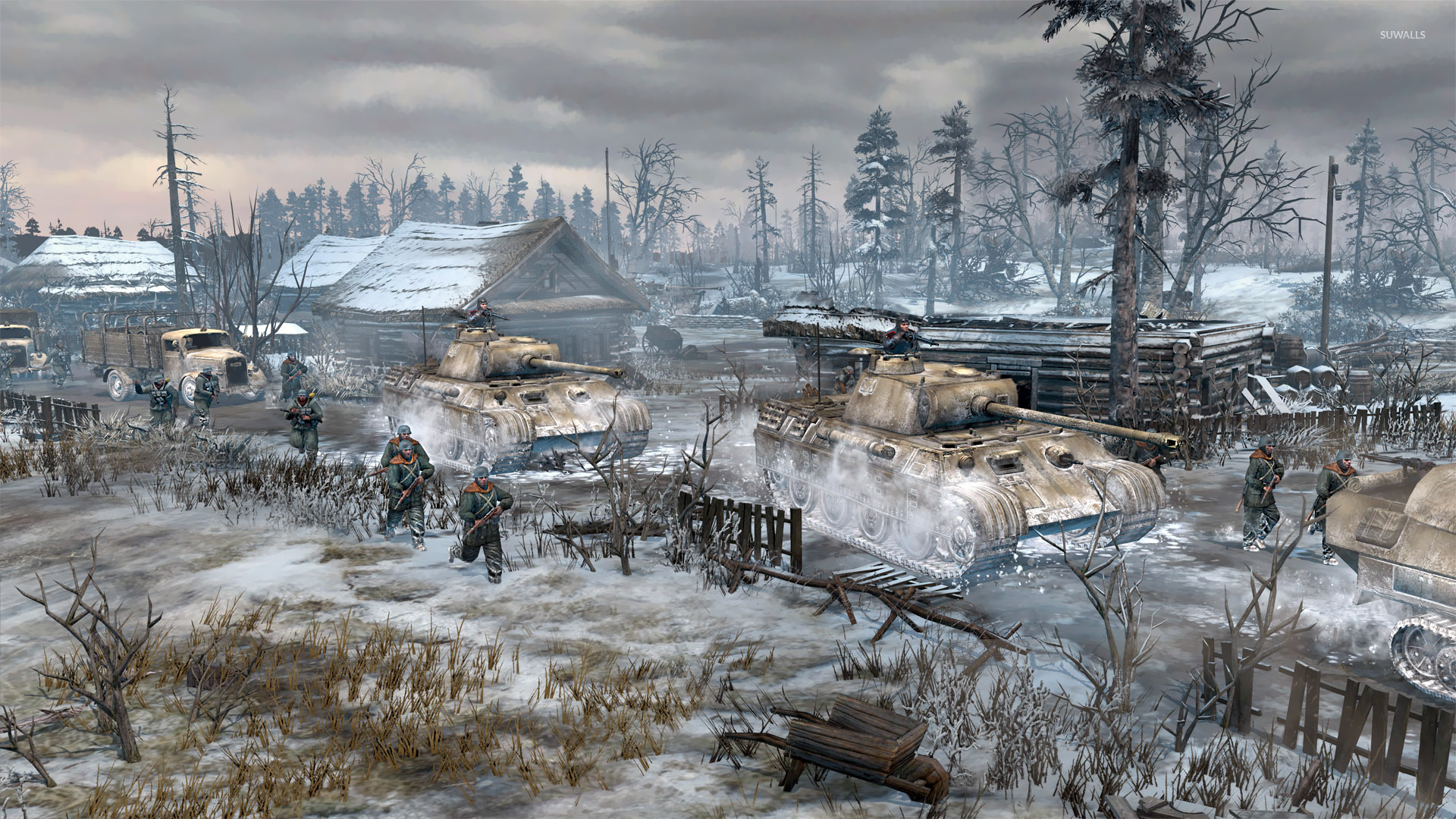 Company Of Heroes 2 3 Wallpaper Game Wallpapers 21356