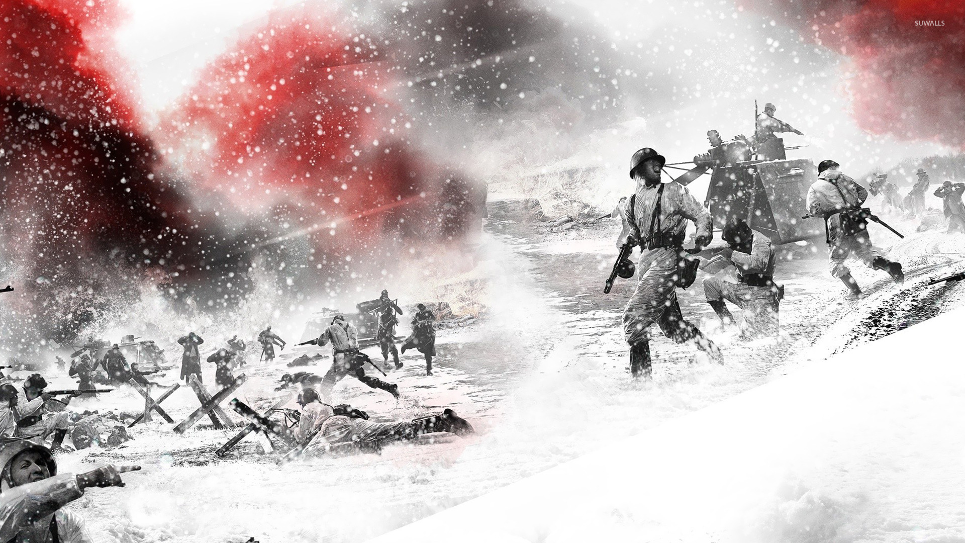 Company of heroes 2 3 wallpaper game wallpapers 21356 for The wallpaper company