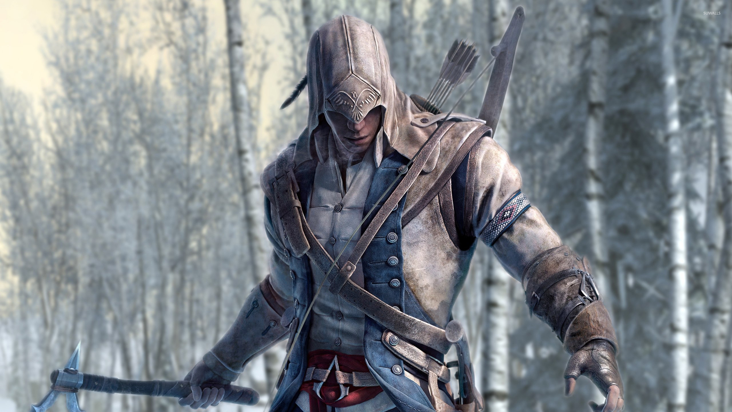 Connor Assassin S Creed Iii Wallpaper Game Wallpapers 40821