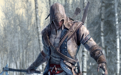 Connor - Assassin's Creed III wallpaper