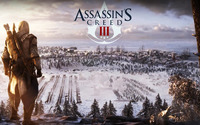 Connor Kenway - Assassin's Creed III wallpaper 1920x1080 jpg