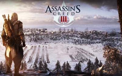 Connor Kenway - Assassin's Creed III wallpaper