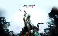 Connor Kenway - Assassin's Creed III [3] wallpaper 1920x1200 jpg