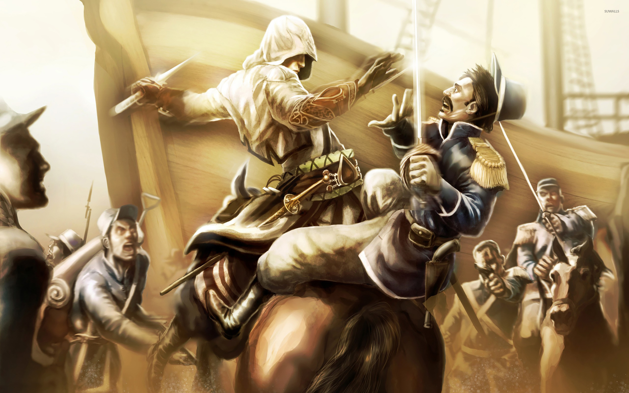 Connor Kenway Assassin S Creed Iii 4 Wallpaper Game