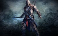 Connor Kenway with an ax - Assassin's Creed III wallpaper 1920x1080 jpg
