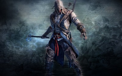 Connor Kenway with an ax - Assassin's Creed III Wallpaper