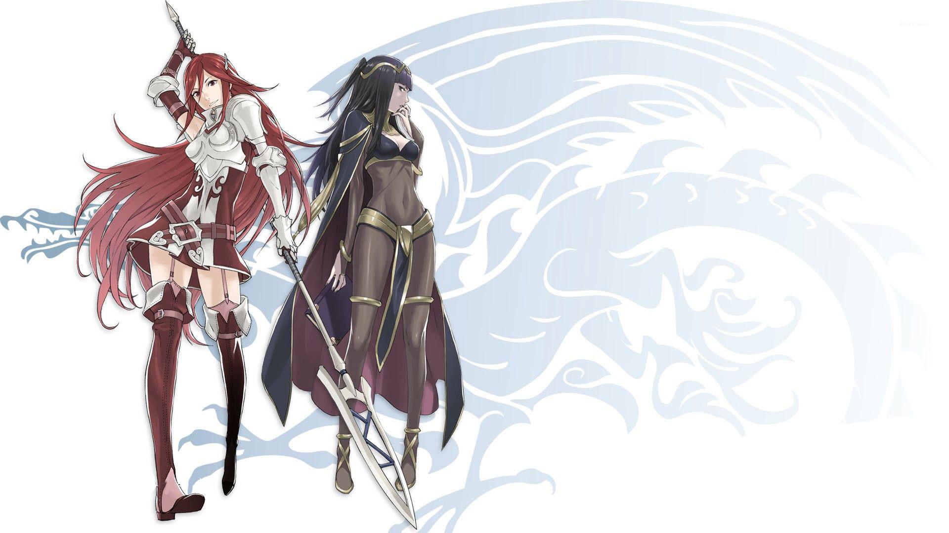 Cordelia And Tharja From Fire Emble Awakening Wallpaper Game