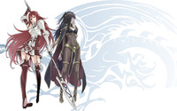 Cordelia and Tharja from Fire Emble Awakening wallpaper 1920x1080 jpg