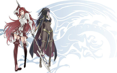 Cordelia and Tharja from Fire Emble Awakening wallpaper
