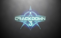 Crackdown 3 logo on a silver wall wallpaper 3840x2160 jpg