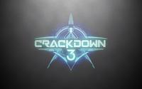 Crackdown 3 logo on a silver wall wallpaper 3840x2160 jpg