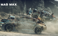 Crashing cars in Mad Max wallpaper 3840x2160 jpg