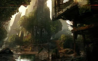 Crysis 3 artwork wallpaper