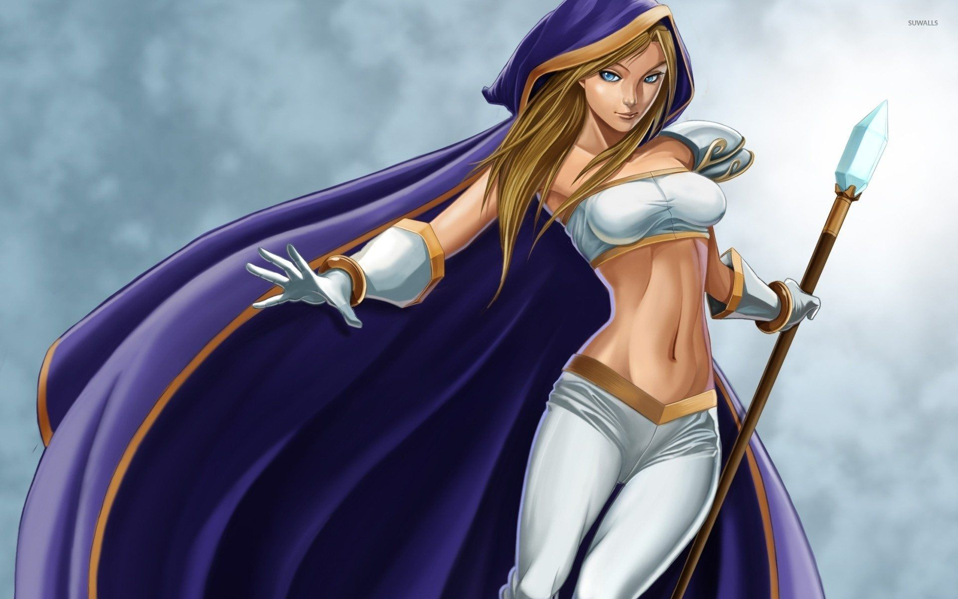 Crystal Maiden Dota 2 Wallpaper Game Wallpapers 32642