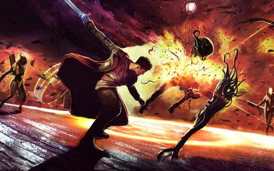 Dante - Devil May Cry 5 [8] wallpaper