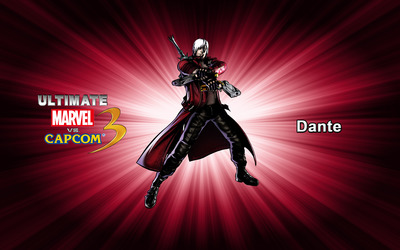Dante - Ultimate Marvel vs. Capcom 3 wallpaper