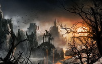 Dark Castle wallpaper 1920x1200 jpg